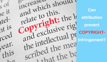 Attribution Is Different than Copyright Permission