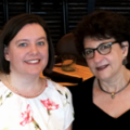 Audrey McCulloch and Sue Kesner